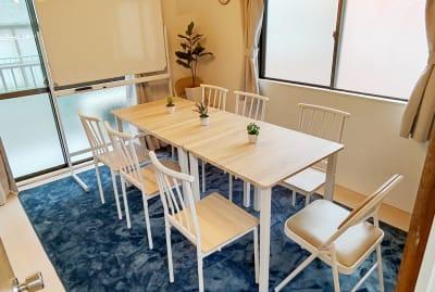 MTBベースdue(ドゥーエ) 貸し会議室・リモートワークの室内の写真