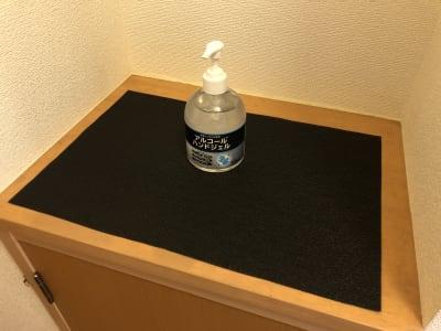 アルコールハンドジェル設置 - MEETINGROOM 85坂戸 貸会議室/個室/8名/清潔/格安の室内の写真