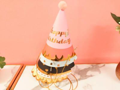 お誕生日帽子 - espace fleurs パーティールーム、多目的スペースの設備の写真
