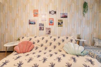 132_ザ・カリフォルニアン新宿 キッチン付きパーティースペースの室内の写真