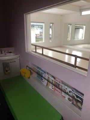 2階:スタジオ入口部分 - ペティ・ダンススタジオ 2F レンタルスタジオ 2Fの室内の写真