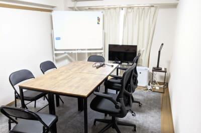 ハカドルスペース下北沢 テレワーク&会議スペースの室内の写真