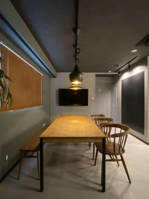 室内写真(ビジネスゾーン)テレビ・モニター地上波放送視聴可能 - dot bridge 渋谷神泉 ドット ブリッジ渋谷神泉の室内の写真