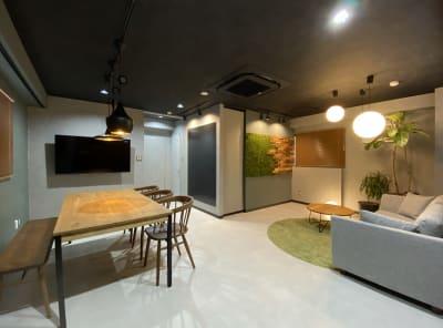 室内写真全体 - dot bridge 渋谷神泉 ドット ブリッジ渋谷神泉の室内の写真