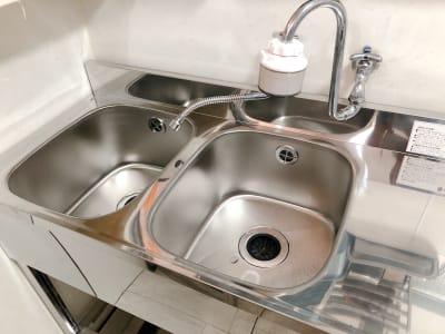2層式タンク - 地域No1価格!無料サービス充実 3F キッチン付きスペースの設備の写真
