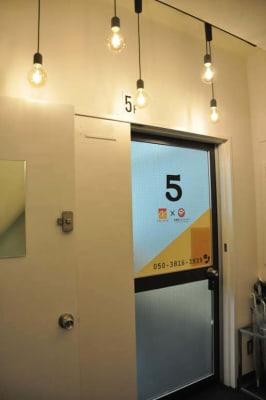 Natuluck茅場町 新館 大会議室(5階)の室内の写真