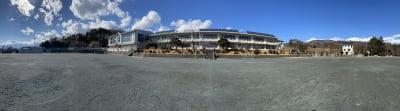八ヶ岳コモンズ 校庭(グランド)の室内の写真