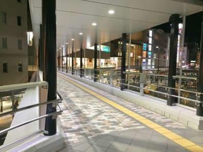 雨の日も濡れることもありませ - いいオフィス明石-貸会議室 【明石駅徒歩3分】の外観の写真