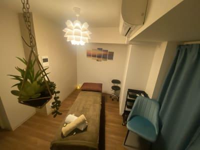 Space-Kを、ご覧いただきありがとうございます!Instagram更新中!「@SpaceK.shibuya」で検索☆動画やお写真多数掲載しております。 - SpaceK-Room1 サロンスペースの室内の写真