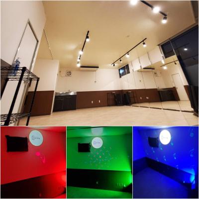 松本市デリシア桐店の目の前にレンタルスペースopen! - スタジオカリマ/カリマ松本 ダンス、ヨガ、トレーニングなどにの室内の写真