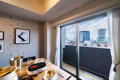 *たこ焼き機は現在貸し出し中止となります - スクエア渋谷1303号室 パーティルームの室内の写真