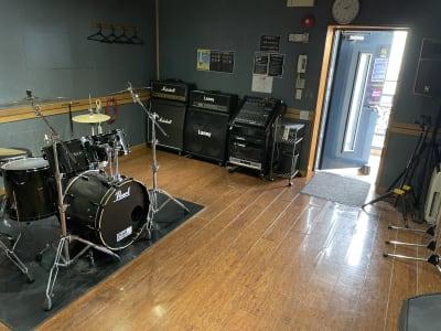 サウンドスタジオM 一之江 Lスタジオの室内の写真