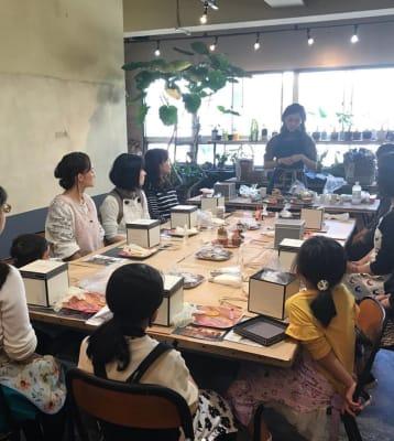 イベント使用事例3 - KLASI COLLEGE 平日利用 レンタルキッチンの室内の写真