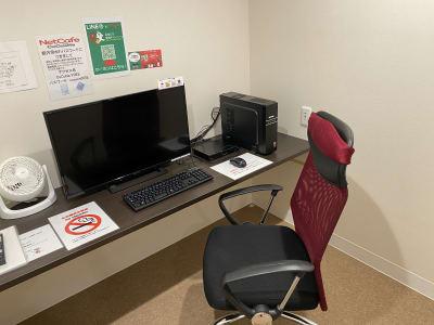 オフィスチェアタイプ - ネットカフェココネ テレワーク専用ルームの室内の写真
