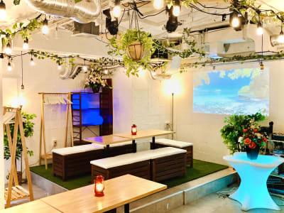 各種イベント承ります!!! - 渋谷ガーデンパティオの室内の写真