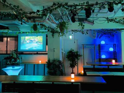 ビル最上階の広々イベントスペース!! - 渋谷ガーデンパティオの室内の写真