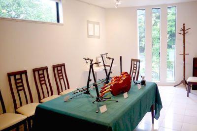 Galerie紅葉山 ギャラリースペースの室内の写真