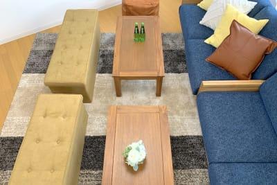 ローテーブルを囲んで🥂団らんも弾みます✨ - Ravi荻窪 レンタルスペースの室内の写真