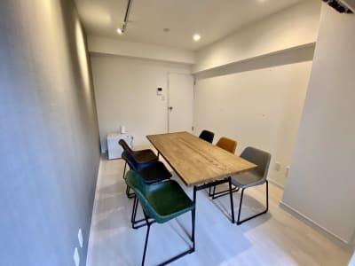 白を基調としたお部屋です。 - SSS渋谷 SSS渋谷Ⅱ レンタルスペースの室内の写真