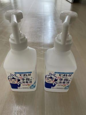 アルコール除菌。定期的にスタッフによる除菌も行っています - レンタルスタジオ名城タンツェン 名城タンツェンの設備の写真