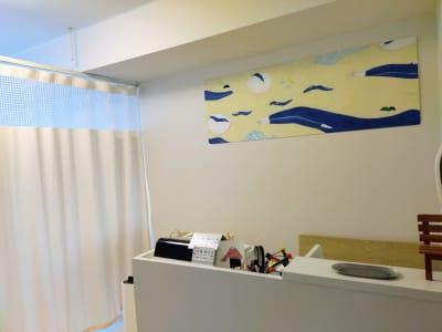 受付スペース - 新宿御苑レンタルサロン サロンスペースの室内の写真