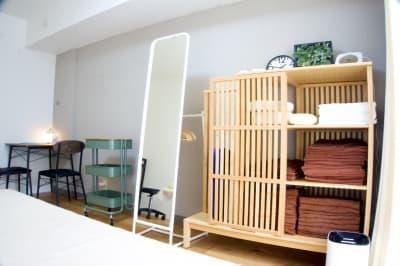 各種設備整っています。 - simple阿佐ヶ谷 施術専用レンタルサロンの室内の写真