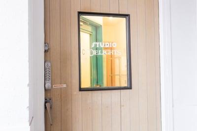スタジオディライツ レンタルダンススタジオA 北浦和の入口の写真