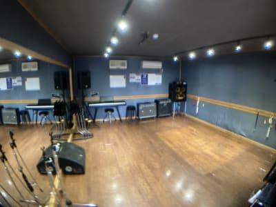 サウンドスタジオM 一之江 Cスタジオの室内の写真