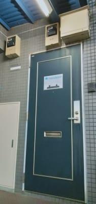 マリオ能見台 レンタルスペースの入口の写真