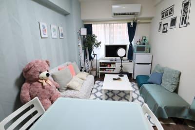 32型テレビモニター - スペースNear‗A館 &SORAの室内の写真