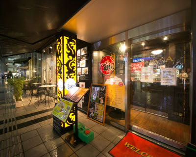 SAPANA 赤坂見附店の入口の写真