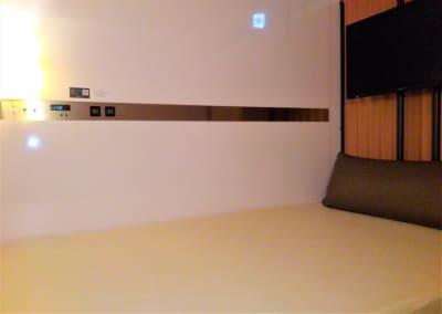 トリフィートホテル&ポッド金沢 スーペリアポッド(半個室 )の室内の写真