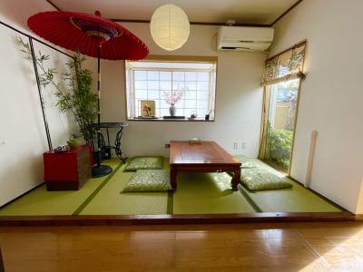 新大久保徒歩8分★日本庭園の部屋 108㎡🌸24H営業❗️屋上テの室内の写真