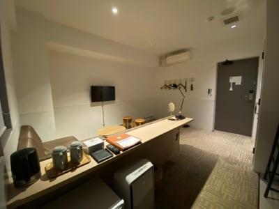 カモンホテルなんば サロンスペース(2~3階)の室内の写真