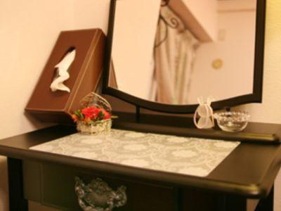 ドレッサー - レンタルサロン自由ヶ丘 サロンスペースの室内の写真