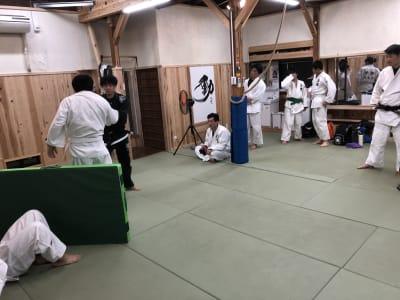 レンタル柔道場 DEN レンタルスペース DENの室内の写真