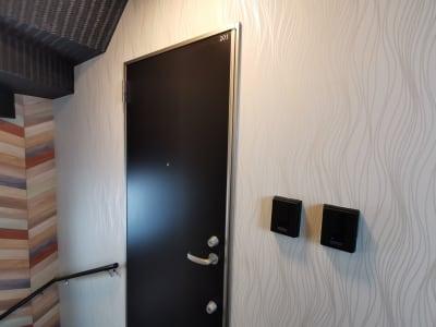 エントランスドアです。 - Hikario新宿 ワークスペース201の室内の写真