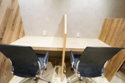 【モディコワーキング】 モディコワーキング自由席Fの室内の写真