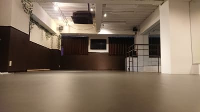 ロフトスタジオの室内の写真