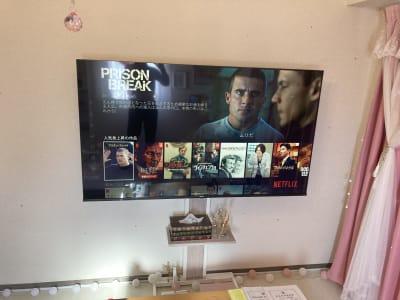 人気VODダイレクトボタンのあるTV! - レンタルスペース クオッカ スペースQuokka(クオッカ)の室内の写真