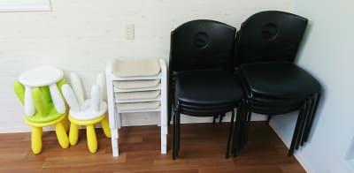 椅子の予備 - P&Oコミュニケーションスタジオ 2Fレンタルスペースの設備の写真