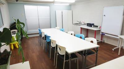 全体風景2 - P&Oコミュニケーションスタジオ 2Fレンタルスペースの室内の写真