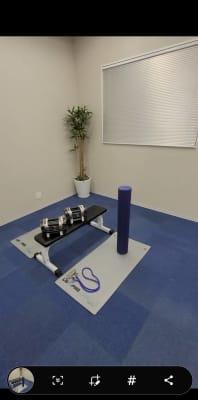 可変式ダンベル、ストレッチポール - REX柏レンタルスペース レンタルスペースの設備の写真