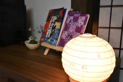 花鈴京都 ちよつる コンパクト可愛いインスタ映え町家の室内の写真