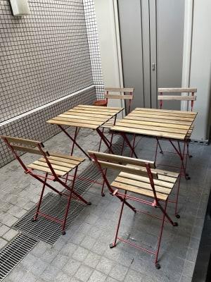 テラス席あり - ebisu bldg.六本木B1 スタジオの室内の写真