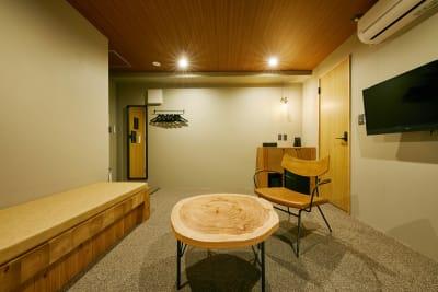 清潔なプライベート空間をご利用できます。 - Daimyo7 デラックススタジオ301の室内の写真