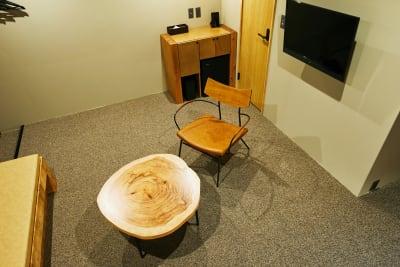 テレビあり。地上波放送をご利用いただけます。 ※DVDプレイヤーはありません。 - Daimyo7 デラックススタジオ301の室内の写真