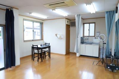 着替スペースもあります。 - レンタルスタジオアヌビス レンタルの室内の写真