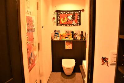 トイレ - ウツボーノ レンタルカフェの設備の写真
