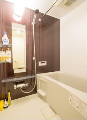 お風呂とトイレは別です。 - Hikario新宿 ワークスペース 203の設備の写真